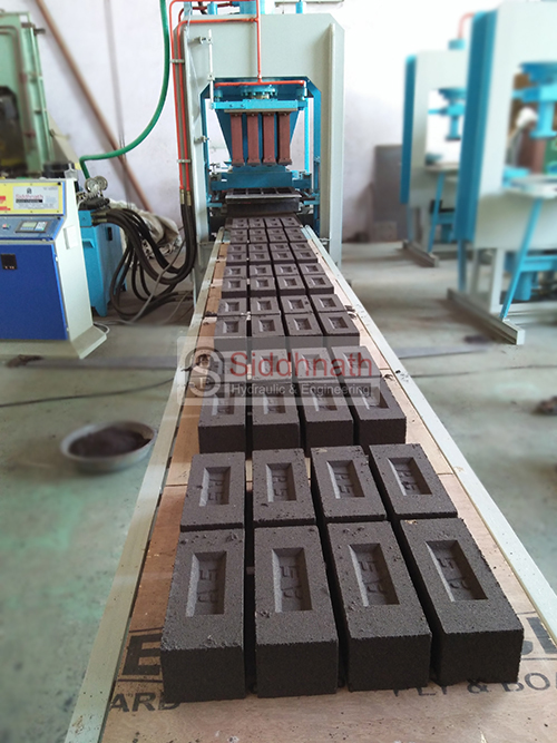 Automatic Fly Ash Bricks Machine