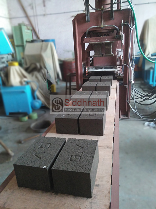 Automatic Fly Ash Bricks Machine Model S3